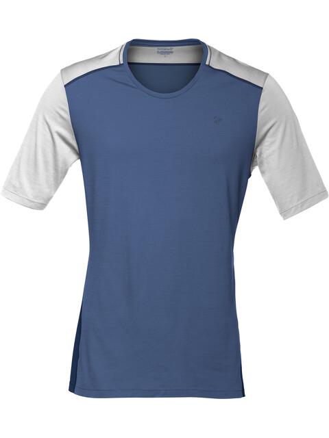 Norrøna M's Wool T-Shirt Ash/Denimite